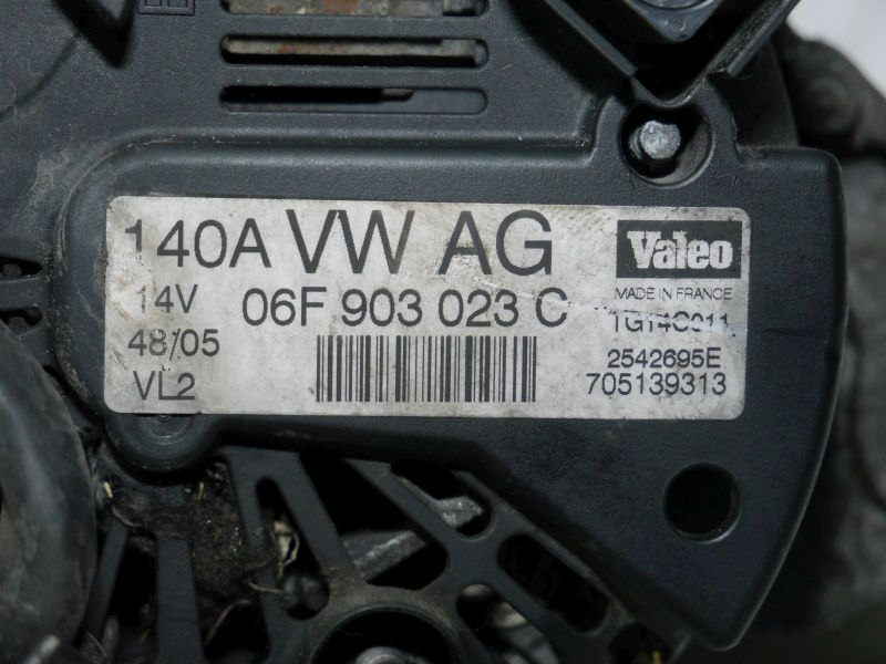 Lichtmaschine Generator 140ASKODA OCTAVIA (1U2) 1.9 TDI