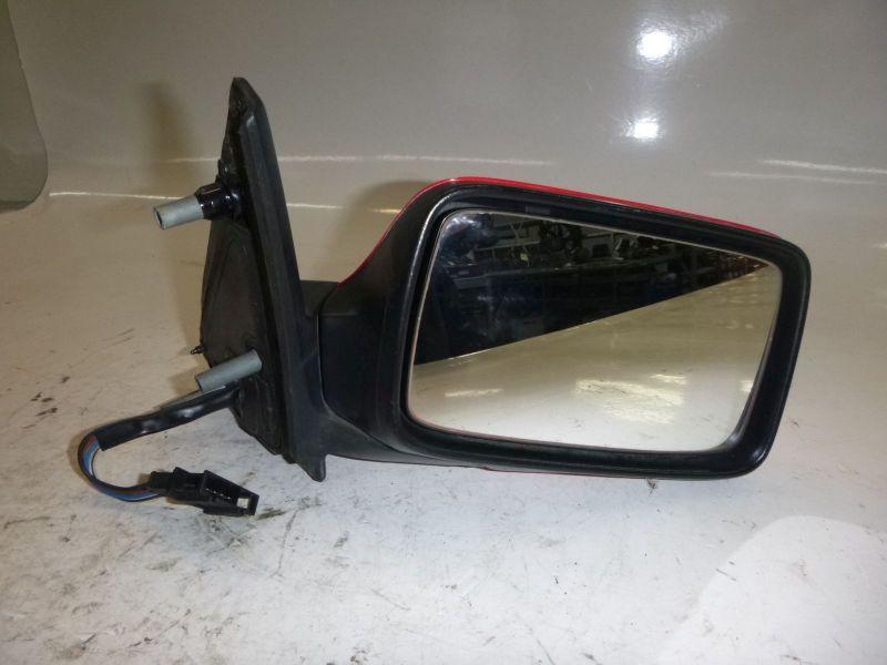 Außenspiegel elektrisch lackiert RECHTS , 5 PIN , FARBE : LP3G ( ROT )VW GOLF III (1H1) 1,6