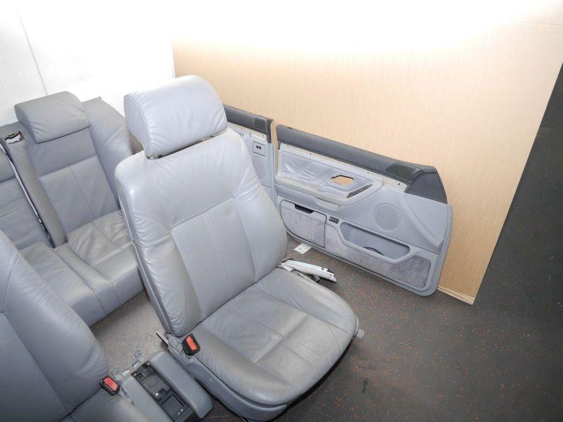 Sitze komplett LEDER KOMPLETT GRAUBMW 7 (E38) 725 TDS