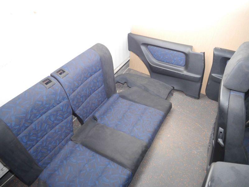 Sitze komplett ALCANTARA STOFFBMW 3 COUPE (E36) 316I