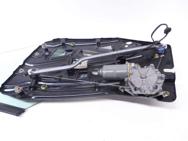 Seitenscheibe rechts hinten Komplett mit seil und motor