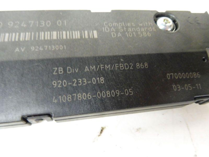 Steuergerät Antennenverstärker 9247130 11652939BMW 5 TOURING (F11) 525D
