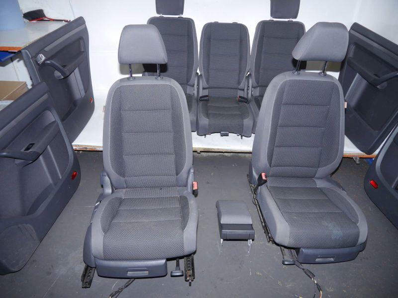 Sitze komplett Sitzbezüge in StoffVW TOURAN (1T3) 2.0 TDI
