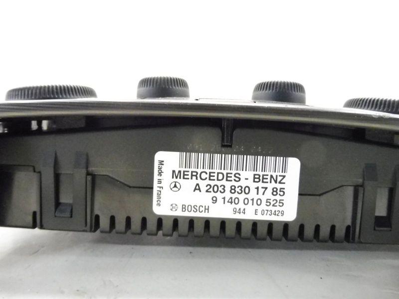 Bedienelement, Klimaanlage MERCEDES-BENZ C-KLASSE COUPE (CL203) C 180 KOMPRESSOR