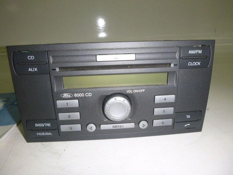 CD-Radio FORD FIESTA V (JH_, JD_) 1.25 16V