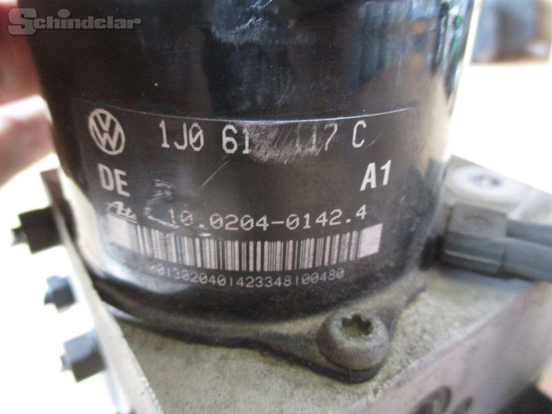 Bremsaggregat ABS VW GOLF IV (1J1) 1.6