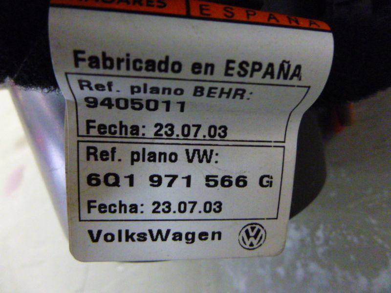 Gebläsemotor SKODA FABIA COMBI (6Y5) 1.4 16V