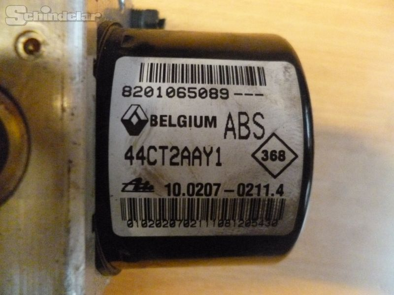 Bremsaggregat ABS RENAULT TWINGO (CN0_) 1.2 16V