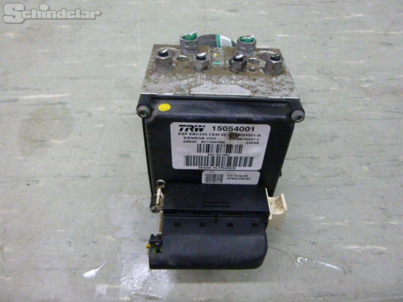 Bremsaggregat ABS RECHSTLENKERPEUGEOT 407 (6D_) 2.0