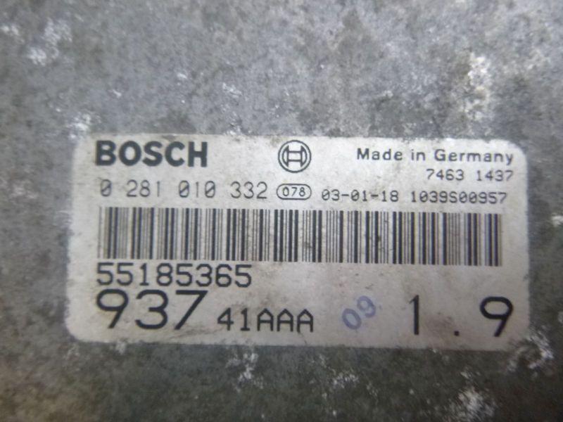 Motorsteuergerät ZÜNDSCHLOSS SCHLÜSSELALFA ROMEO 147 (937) 1.9 JTD