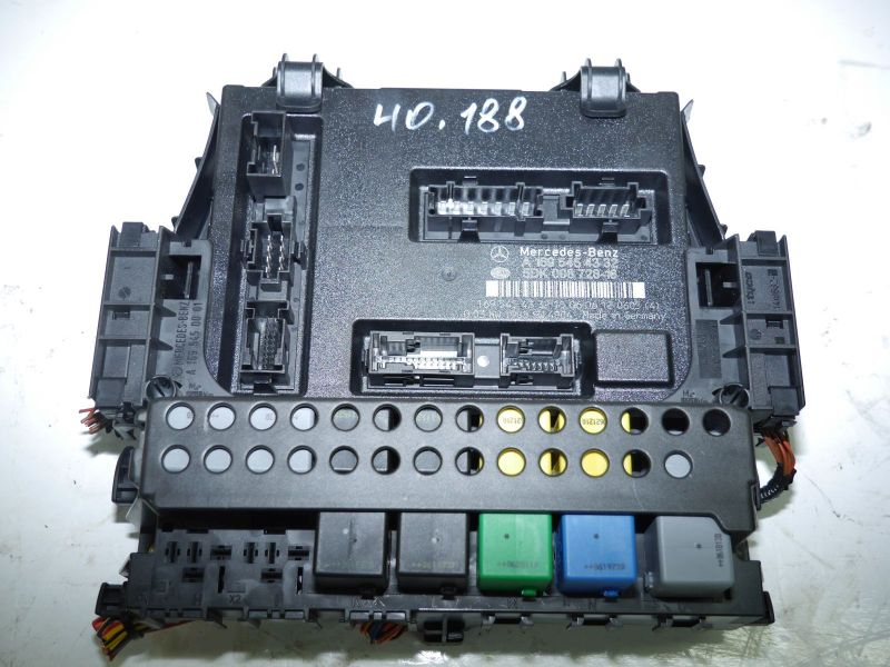 Komfortsteuergerät   RELAISKASTENMERCEDES-BENZ B-KLASSE (W245) B 200 TURBO