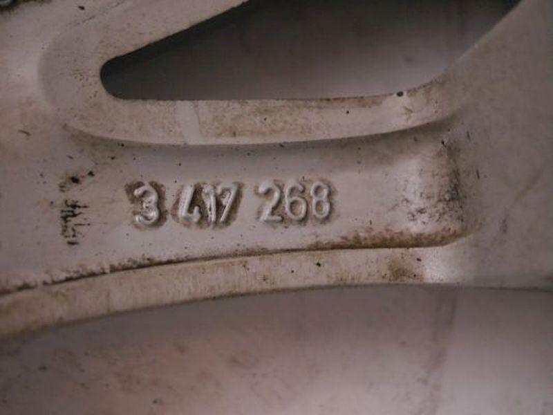 Aluminiumfelge 8.5JX19 H2 ET46 LK5X120X72,61Satz(je4Stück)
