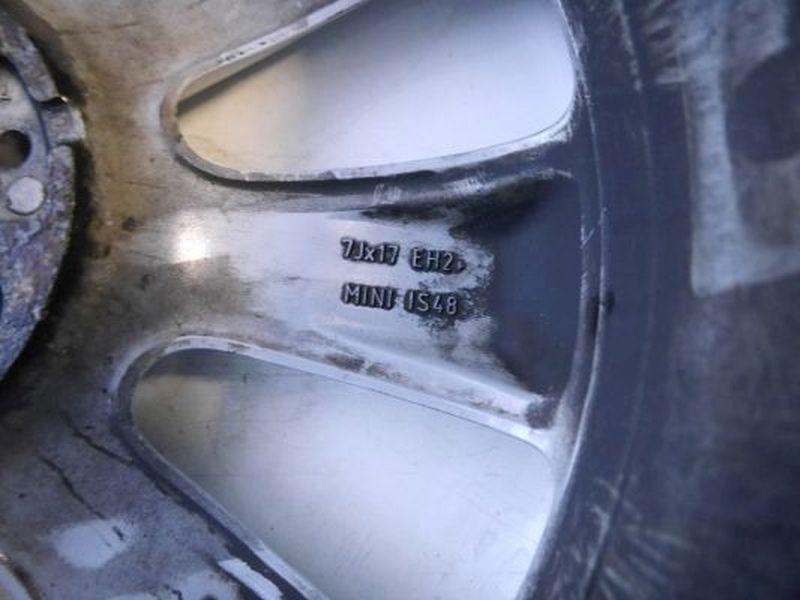 Aluminiumfelge 7JX17 H2 ET48 LK4X100X56
