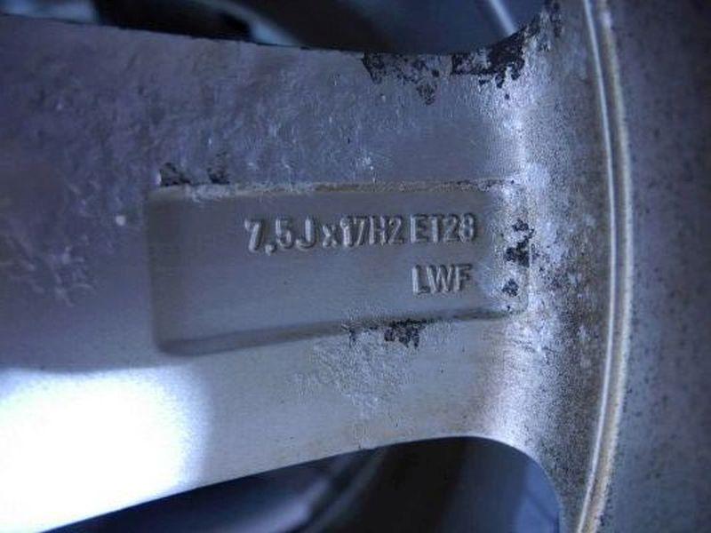 Komplettrad:225/55 R17 97H Auf Aluminiumfelge 7.5JX17 H2 ET29 LK5X112X66,61Satz(je4Stück)