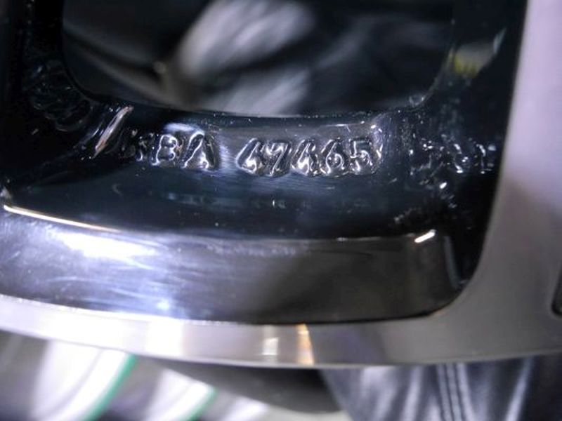 Aluminiumfelge 8JX18 H2 ET35 LK5X112X66,61Satz(je4Stück)