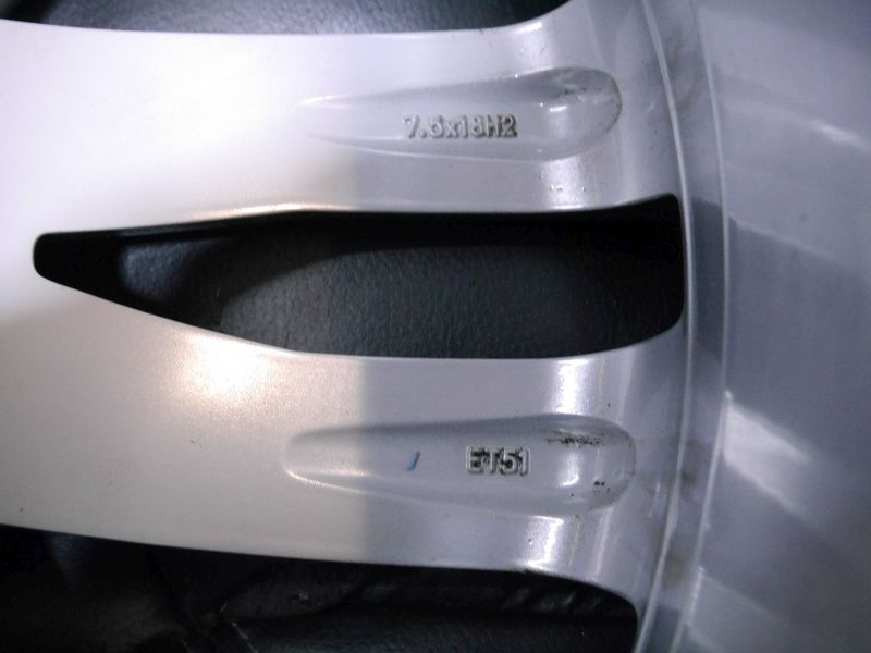 Aluminiumfelge 7.5JX18 H2 ET51 LK5X112X57,11Satz(je4Stück)