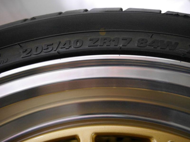 Komplettrad:205/40 R17 84W Auf Aluminiumfelge 7JX17 H2 ET38 LK4X100X641Satz(je4Stück)