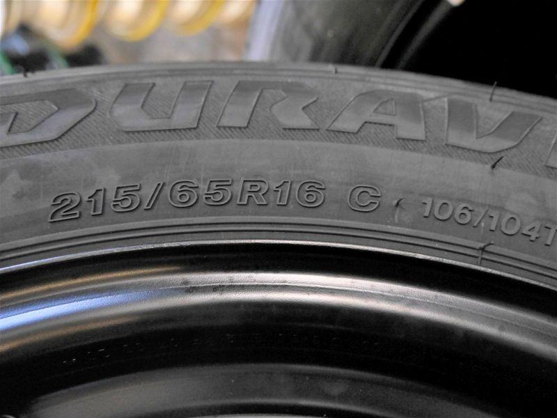 Komplettrad:215/65 R16 106T Auf Stahlfelge 6.5JX16 H2 ET51 LK5X1201Satz(je4Stück)