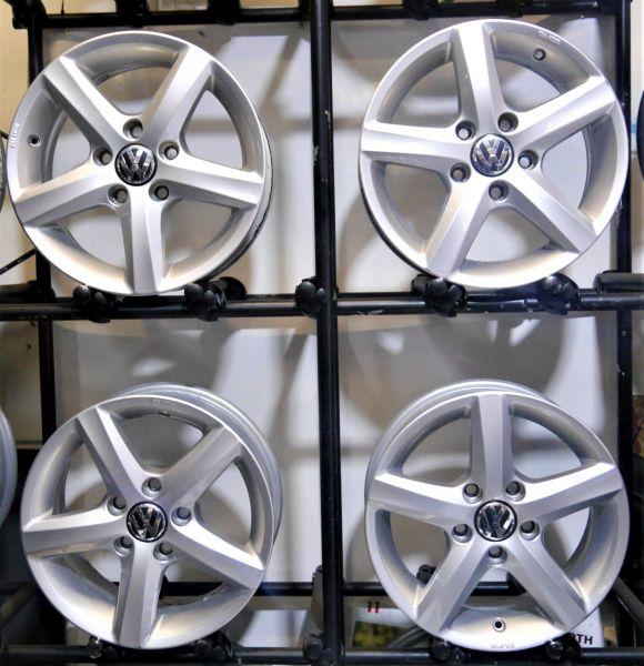 Aluminiumfelge 6JX15 H2 ET43 LK5X112X57,11Satz(je4Stück)
