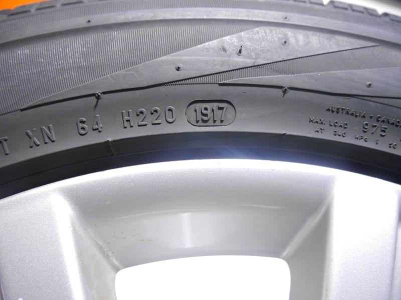 Komplettrad:255/50 R19 107H Auf Aluminiumfelge 8.5JX19 H2 ET62 LK5X112X66,61Satz(je4Stück)